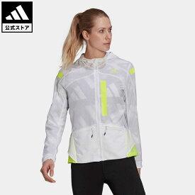 【公式】アディダス adidas ランニング マラソン トランスルーセント ジャケット / Marathon Translucent Jacket レディース ウェア アウター ジャケット 白 ホワイト GN2725 ランニングウェア p0409