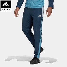 【公式】アディダス adidas 返品可 サッカー ティロ トラックパンツ / Tiro Track Pants メンズ ウェア ボトムス パンツ 青 ブルー GQ1046