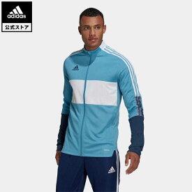 【公式】アディダス adidas サッカー ティロ トラックジャケット / Tiro Track Jacket メンズ ウェア アウター ジャケット ジャージ 青 ブルー GQ1062