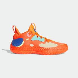 【公式】アディダス adidas バスケットボール ハーデン Vol. 5 フューチャーナチュラル / Harden Vol. 5 Futurenatural メンズ シューズ スポーツシューズ 赤 レッド H68684 バッシュ スパイクレス