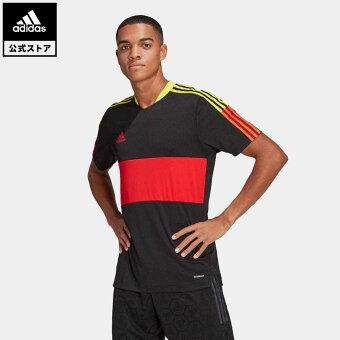 【公式】アディダス adidas サッカー ティロ 21 ジャージー / Tiro 21 Jersey メンズ ウェア トップス ユニフォーム 黒 ブラック GN5544
