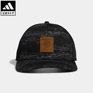 【公式】アディダス adidas 返品可 ゴルフ ヘザートラッカーキャップ / SD Golf Trucker Hat メンズ アクセサリー 帽子 キャップ 黒 ブラック GL7867 notp