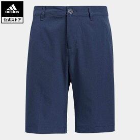 【公式】アディダス adidas ゴルフ BOYS ショートパンツ キッズ ウェア ボトムス ショートパンツ 青 ブルー GQ2423