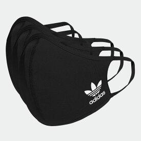 全品送料無料! 03/04 20:00〜03/11 09:59 【公式】アディダス adidas フェイスカバー 3枚組(M/L) / Face Covers M/L 3-Pack レディース メンズ ウェア その他ウェア 黒 ブラック HB7851