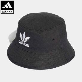 【公式】アディダス adidas 返品可 オリジナルス ハット [BUCKET HAT CORE] オリジナルス レディース メンズ アクセサリー 帽子 バケツ帽 黒 ブラック AJ8995 nm_otd