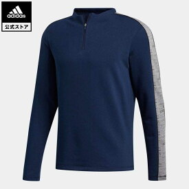 【公式】アディダス adidas ゴルフ ハーフジップスウェット メンズ ウェア トップス スウェット(トレーナー) 青 ブルー GD0826