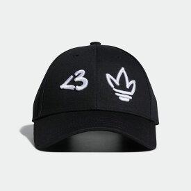 【公式】アディダス adidas 5パネルキャップ オリジナルス レディース メンズ アクセサリー 帽子 キャップ 黒 ブラック H51008