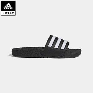 【公式】アディダス adidas 返品可 水泳 アディレッタ BOOST サンダル / Adilette Boost Slides レディース メンズ シューズ・靴 サンダル 黒 ブラック FY8154