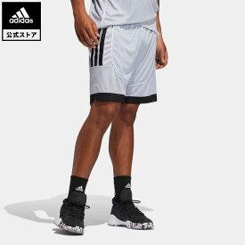 【公式】アディダス adidas 返品可 バスケットボール クリエーター 365 ショーツ / Creator 365 Shorts メンズ ウェア・服 ボトムス ハーフパンツ シルバー GK8376