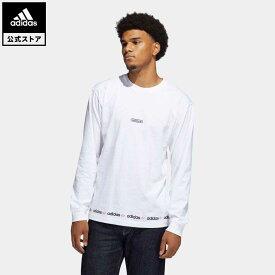 【公式】アディダス adidas 返品可 リニア リピート 長袖Tシャツ オリジナルス メンズ ウェア トップス Tシャツ 白 ホワイト GN3880 ロンt fathersday