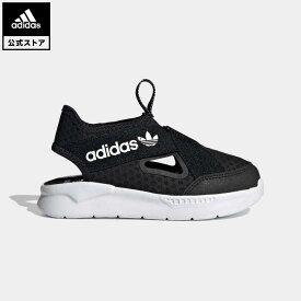 【公式】アディダス adidas 返品可 360 サンダル / 360 Sandals オリジナルス キッズ シューズ サンダル 黒 ブラック FX4946