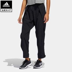 【公式】アディダス adidas 返品可 ジム・トレーニング ダンス パンツ / Dance Pants レディース ウェア・服 ボトムス パンツ 黒 ブラック GL0683