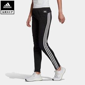 【公式】アディダス adidas アディダス スポーツウェア 3ストライプス スキニーパンツ / adidas Sportswear 3-Stripes Skinny Pants アスレティクス レディース ウェア ボトムス パンツ 黒 ブラック GP7350 start_something_new coupon対象0429