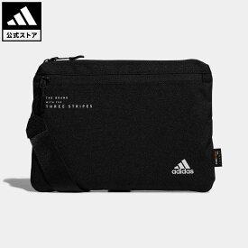 【公式】アディダス adidas 返品可 ジム・トレーニング ヒューチャーアイコン サコッシュ レディース メンズ アクセサリー バッグ・カバン ショルダーバッグ 黒 ブラック GL8598