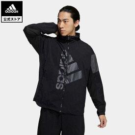 【公式】アディダス adidas 返品可 バッジ オブ スポーツ メッシュジャケット / Badge of Sport Mesh Jacket アスレティクス メンズ ウェア・服 トップス パーカー(フーディー) ジャージ 黒 ブラック GL8681 トレーナー