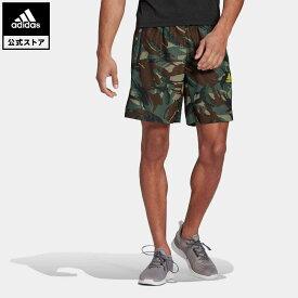 【公式】アディダス adidas ジム・トレーニング アディダス デザインド トゥ ムーブ カモフラージュ AEROREADY ショーツ / adidas Designed To Move Camouflage AEROREADY Shorts メンズ ウェア ボトムス ハーフパンツ 緑 グリーン GM2107