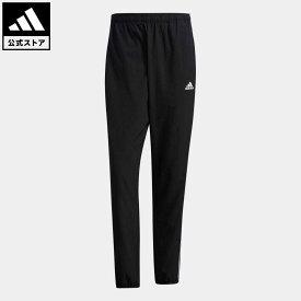 【公式】アディダス adidas 返品可 マストハブ 3ストライプス パンツ / Must Haves 3-Stripes Pants アスレティクス メンズ ウェア・服 ボトムス ジャージ パンツ 黒 ブラック GN0818 下