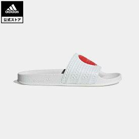 【公式】アディダス adidas 返品可 アディレッタ サンダル / Adilette Slides オリジナルス レディース メンズ シューズ・靴 サンダル 白 ホワイト GW2563