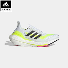 【公式】アディダス adidas 返品可 ランニング ウルトラブースト 21 / Ultraboost 21 キッズ シューズ スポーツシューズ 白 ホワイト FZ2929 ランニングシューズ