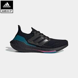 【公式】アディダス adidas 返品可 ランニング ウルトラブースト 21 / Ultraboost 21 メンズ シューズ スポーツシューズ 黒 ブラック FZ1921 ランニングシューズ