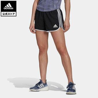 【公式】アディダス adidas 返品可 ランニング マラソン 20 PRIMEBLUE ランニングショーツ / Marathon 20 Primeblue Running Shorts レディース ウェア ボトムス ハーフパンツ 黒 ブラック GK1980 walking_jogging ランニングウェア