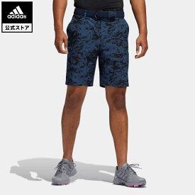 【公式】アディダス adidas ゴルフ PRIMEGREEN ULTIMATE365 カモプリント ショートパンツ / Ultimate365 Camo Shorts メンズ ウェア ボトムス ハーフパンツ 青 ブルー GM0296