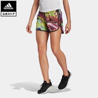 【公式】アディダス adidas 返品可 ランニング マラソン 20 フローラルショーツ / Marathon 20 Floral Shorts レディース ウェア ボトムス ハーフパンツ GM6828 walking_jogging ランニングウェア
