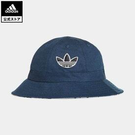 【公式】アディダス adidas 返品可 スポーツ ベル バケットハット オリジナルス レディース メンズ アクセサリー 帽子 バケツ帽 青 ブルー GN2255