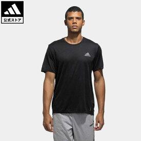 【公式】アディダス adidas 返品可 ランニング ファスト PRIMEBLUE 半袖Tシャツ / Fast Primeblue Tee メンズ ウェア トップス Tシャツ 黒 ブラック GN5707 newnormal walking_jogging ランニングウェア 半袖 coupon対象0429
