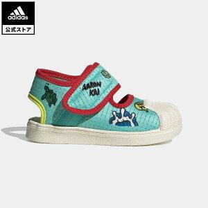 【公式】アディダス adidas 返品可 SS 360 PRIMEBLUE サンダル / SS 360 Primeblue Sandals オリジナルス キッズ シューズ サンダル 緑 グリーン FX4860