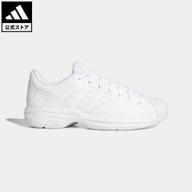 【公式】アディダス adidas 返品可 バスケットボール プロモデル 2G ロー / Pro Model 2G Low レディース メンズ シューズ・靴 スポーツシューズ 白 ホワイト FX7099 バッシュ