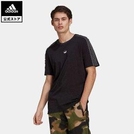 【公式】アディダス adidas SPRT 3ストライプ Tシャツ オリジナルス メンズ ウェア トップス Tシャツ GN2417 半袖