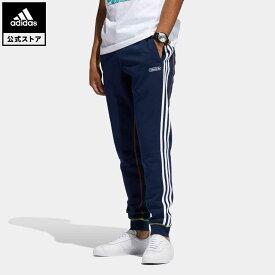 【公式】アディダス adidas 返品可 コントラストステッチ スウェットパンツ オリジナルス メンズ ウェア・服 ボトムス ジャージ パンツ 青 ブルー GN3890 下