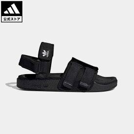 【公式】アディダス adidas ニューアディレッタ サンダル / New Adilette Sandals オリジナルス レディース メンズ シューズ サンダル 黒 ブラック GZ8409 p0409