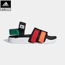 【公式】アディダス adidas ニューアディレッタ サンダル / New Adilette Sandals オリジナルス レディース メンズ シューズ サンダル 黒 ブラック GZ8827 p0409