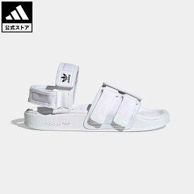 【公式】アディダス adidas 返品可 ニューアディレッタ サンダル / New Adilette Sandals オリジナルス レディース メンズ シューズ サンダル 白 ホワイト H67272 fathersday