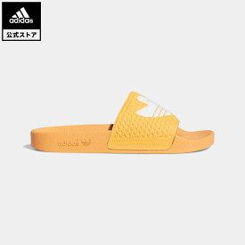 【公式】アディダス adidas 返品可 シュムーフォイル サンダル オリジナルス レディース メンズ シューズ サンダル オレンジ FY6850