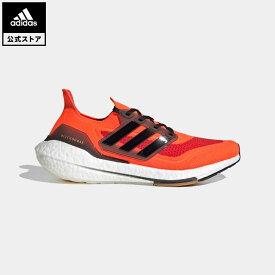 【公式】アディダス adidas 返品可 ランニング ウルトラブースト 21 / Ultraboost 21 メンズ シューズ スポーツシューズ 赤 レッド FZ1924 ランニングシューズ