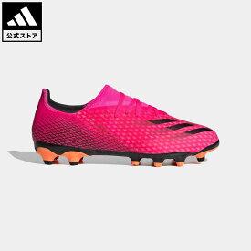 【公式】アディダス adidas 返品可 サッカー エックス ゴースト.3 HG/AG / 土・人工芝用 / X Ghosted.3 HG/AG Boots メンズ シューズ・靴 スパイク ピンク FW6973 サッカースパイク