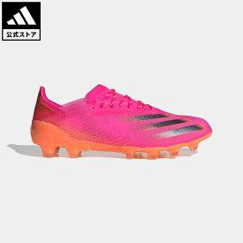 【公式】アディダス adidas 返品可 サッカー エックス ゴースト.1 HG / 硬い土用 / X Ghosted.1 Hard Ground メンズ シューズ・靴 スパイク ピンク FY4727 サッカースパイク