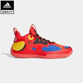 【公式】アディダス adidas 返品可 バスケットボール ハーデン Vol. 5 フューチャーナチュラル / Harden Vol. 5 Futurenatural メンズ シューズ・靴 スポーツシューズ 赤 レッド FZ1292 バッシュ