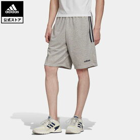 【公式】アディダス adidas ショーツ / Shorts メンズ ウェア ボトムス スウェット(トレーナー) ハーフパンツ グレー EJ0924