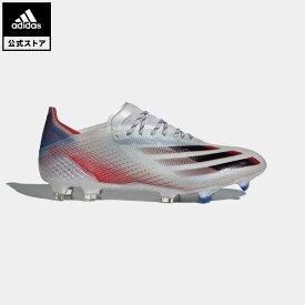 【公式】アディダス adidas 返品可 サッカー エックス ゴースト.1 FG / 天然芝用 / X Ghosted.1 Firm Ground Boots メンズ シューズ・靴 スパイク シルバー FW6894 サッカースパイク