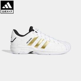 【公式】アディダス adidas 返品可 バスケットボール プロモデル 2G ロー / Pro Model 2G Low メンズ シューズ・靴 スポーツシューズ 白 ホワイト H68060 mss21fw バッシュ
