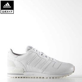 【公式】アディダス adidas 返品可 ZX 700 オリジナルス レディース メンズ シューズ・靴 スニーカー 白 ホワイト G62110 nm_otd ローカット