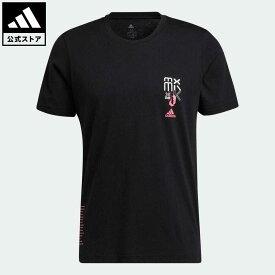 【公式】アディダス adidas 返品可 バスケットボール デイム 7 EXTPLY 半袖Tシャツ メンズ ウェア・服 トップス Tシャツ 黒 ブラック GU2708 mss21fw 半袖