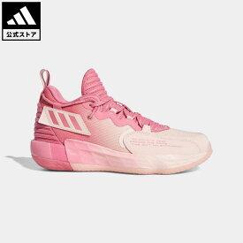 【公式】アディダス adidas 返品可 バスケットボール デイム 7 EXTPLY: DAME D.O.L.L.A. / Dame 7 EXTPLY: DAME D.O.L.L.A. メンズ シューズ・靴 スポーツシューズ ピンク GV9877 mss21fw バッシュ