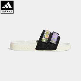 【公式】アディダス adidas 返品可 アディレッタ 2.0 サンダル / Adilette 2.0 Slides オリジナルス レディース メンズ シューズ サンダル 白 ホワイト GW2411