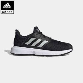 【公式】アディダス adidas 返品可 テニス ゲームコート テニス / GameCourt Tennis メンズ シューズ・靴 スポーツシューズ 黒 ブラック GZ8515 テニスシューズ