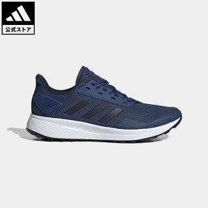 【公式】アディダス adidas 返品可 ランニング DURAMO 9 M メンズ シューズ スポーツシューズ 青 ブルー EG8661 ランニングシューズ